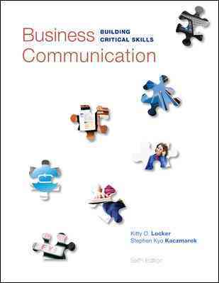Business Communication By Locker, Kitty (COR)/ Kaczmarek, Stephen